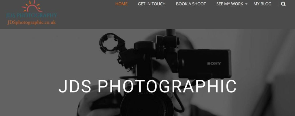 ecommerce photography website